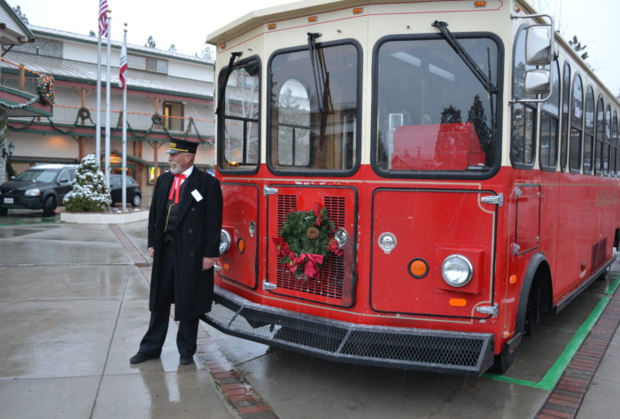 ALL ABOARD BIG BEAR TROLLEY – BE DRIVEN