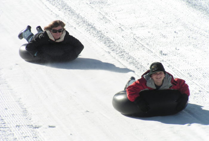 Big Bear Snow Tubing at Alpine Slide – Winter Gets  Early Start