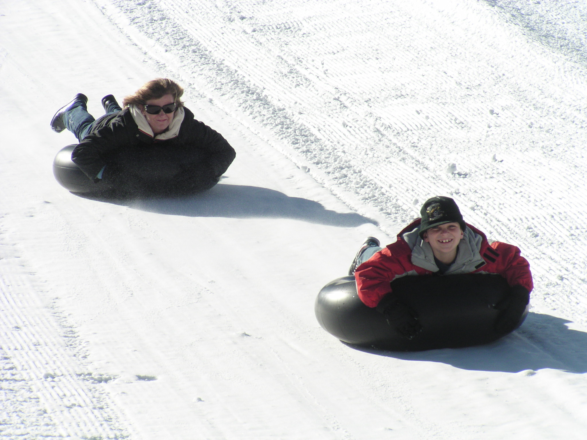 Snow Tubing at Alpine Slide
