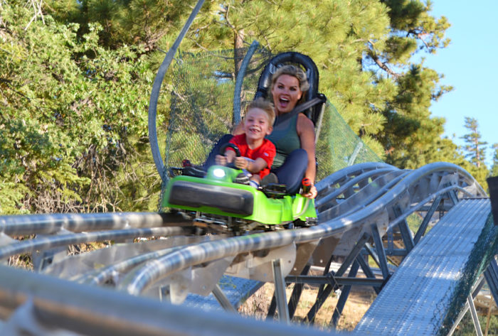 MINESHAFT COASTER – NEW EXCITING THRILL RIDE IN BIG BEAR