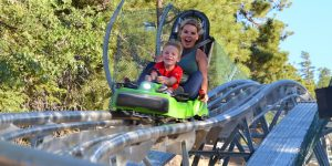 MINESHAFT COASTER - NEW EXCITING THRILL RIDE IN BIG BEAR